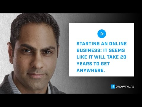 Starting an Online Business - It seems like it will take 20 years to get anywhere.
