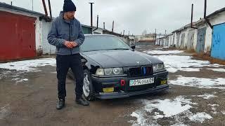 E36 для Америки! Идеальная BMW Тюнинг M52 Обзор Тест драйв Караганда