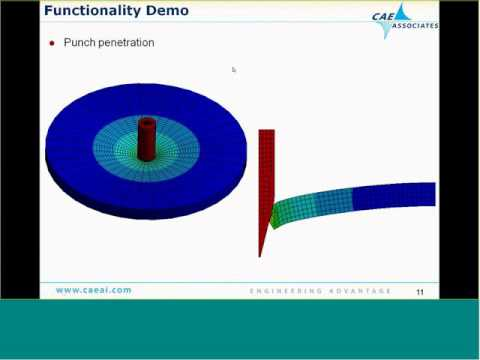 Nonlinear Convergence | ANSYS e-Learning | CAE Associates