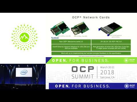 OCPUS18 – Keynote – Architecting for the Future of Hyperscale Datacenters - Presented by Intel