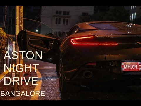 Aston Martin DB11 in Bangalore | Night Drive