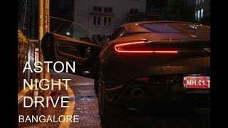 Aston Martin DB11 in Bangalore   Night Drive アストンマーチンdb11 検索動画 10