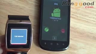 Hi Watch 1.55-inch GSM Bluetooth HD Touch Screen Mobile Watch Phone - Banggood.com