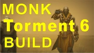 Diablo 3 New Monk [TORMENT 6] Build Patch 2.0.1 backlash ( INSANE DPS !!!! )