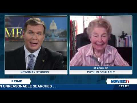 Newsmax Prime   Phyllis Schlafly discusses if Donald Trump is the new face of Conservatism