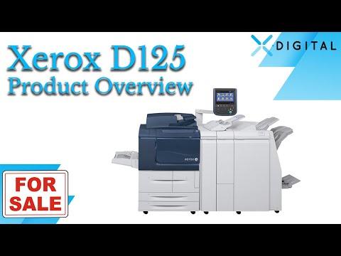 Xerox D125 for sale! D95, D110, D125, D137 - YouTube