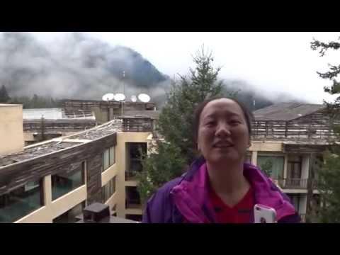 Intercontinental Jiuzhai Paradise Resort mountain view room 九寨天堂