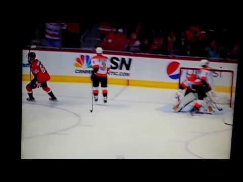 NHL Philadelphia vs Washington Borkowski score
