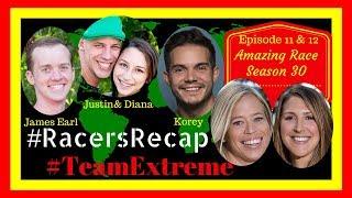 Amazing Race Season 30 Episodes 11 & 12 With #TeamExtreme #RacersRecap