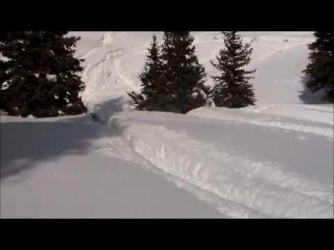 Big Horn Sled Trip:  Feb 2013