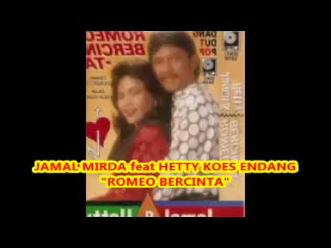Pop Dangdut 1990an  -- ROMEO BERCINTA  -- Jamal Mirdad ft. Hetty Koes Endang