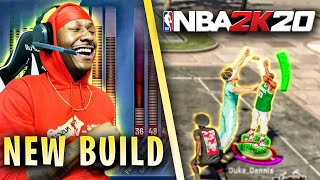 I retired my stretch big and made the Best Guard Build on NBA 2K20! NEW Demigod build on NBA 2K20!