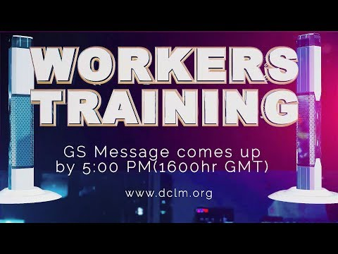 Workers' Training 22-07-2017