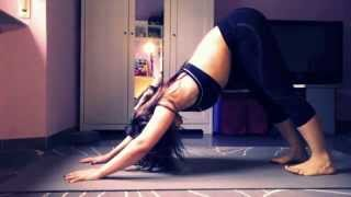 Ashra Yoga Flow : Tutorial for : dog upside down pose