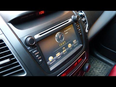 Штатная магнитола RoadRover для KIA Sorento 2013-2014 - GPS навигация, USB, Bluetooth