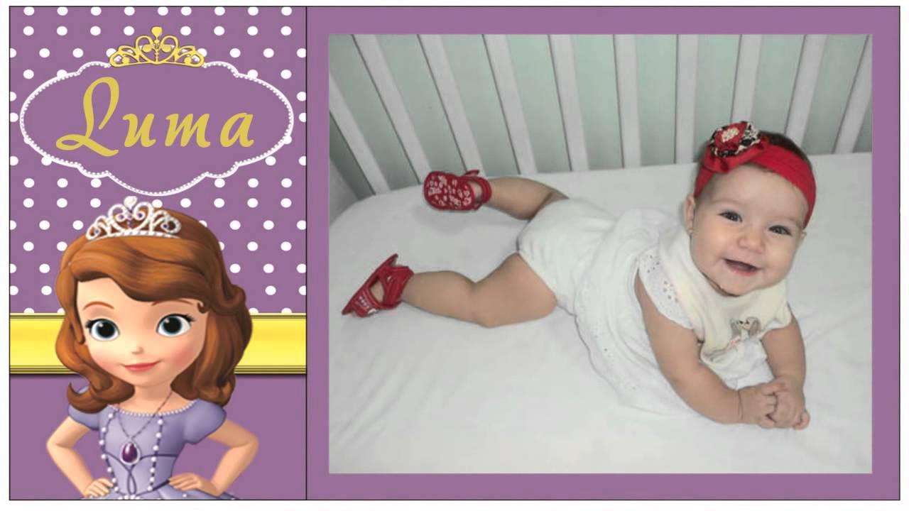 Lbum de fotos digital tema princesa sofia produzido por - Foto princesa sofia ...