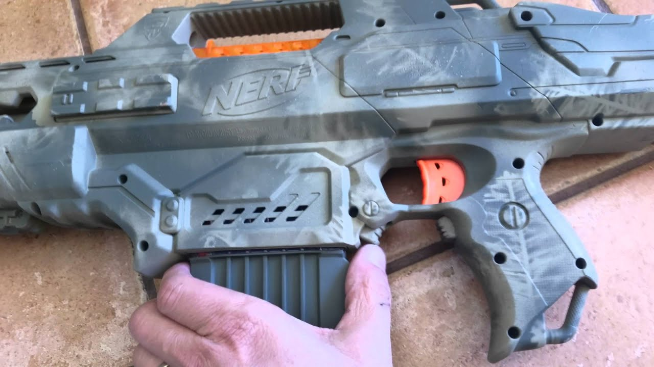 Camo patterns NERF guns