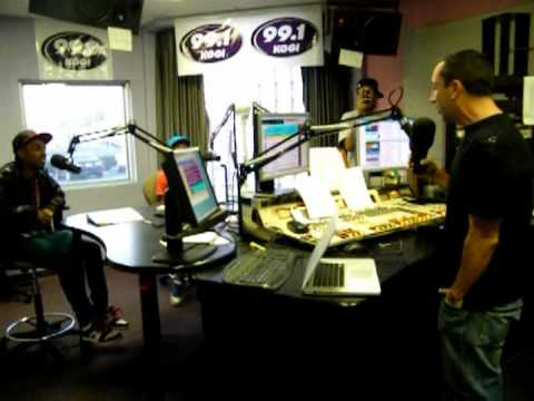 New Boyz with ODM on 99.1 kggi