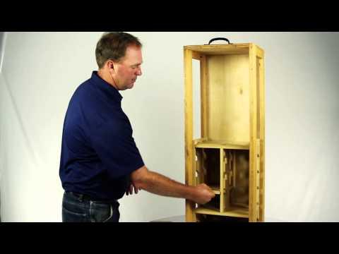 LockerBones Custom Wooden Installation