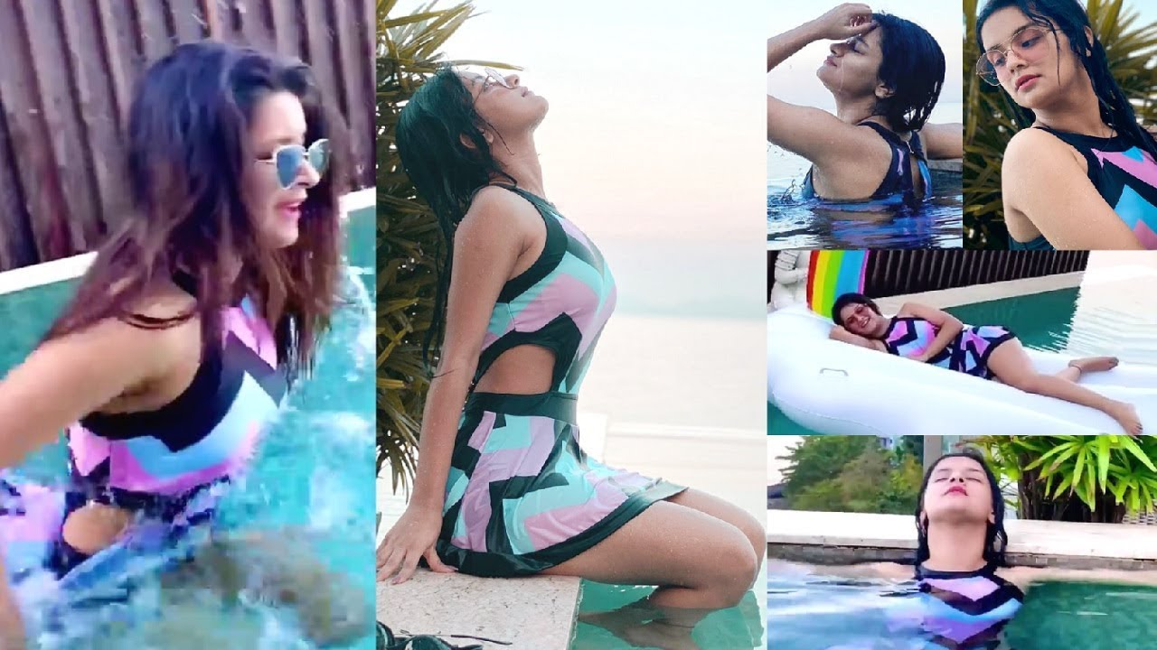 Download Avneet Kaur Bikini Moments From Her Thailand Vacation 🏖️