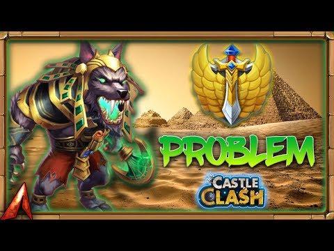 Anubis Is A PROBLEM! Castle Clash