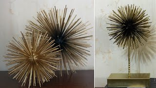 Diy Sea Urchin Wall Decor | Scoppio Sphere | Home Decor Ideas Under Kshs 200!!!