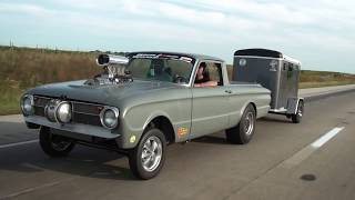 HOT ROD Drag Week 2017 Race Cars on the Road - Day 2