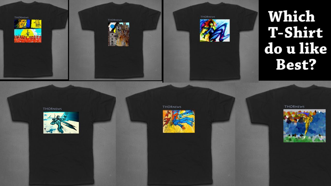 Design t shirt for fundraiser - Help Me Pick The 1st Thornews T Shirt Design Thornews Fundraiser The Next Level Youtube