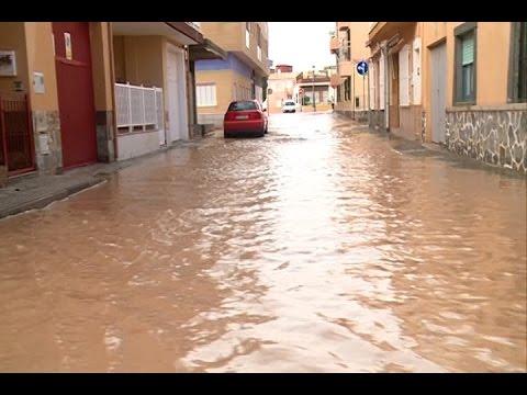Inundaciones en Los Alcázares (Murcia)