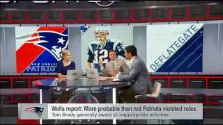 "Bruschi"" I 'do not accept' Wells report - SportsCenter (05-08-2015)"