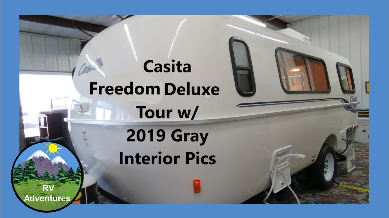 Casita Freedom Deluxe Tour 2019 Colors By Rv Adventures Youtube