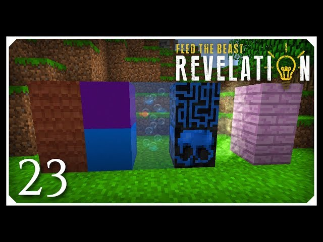 How To Play FTB Revelation | Dye mixer, XTones & Nice Mod! | E23