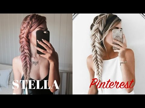 STELLA Vs Pinterest   Dutch Messy Fishtail Braid   Stella