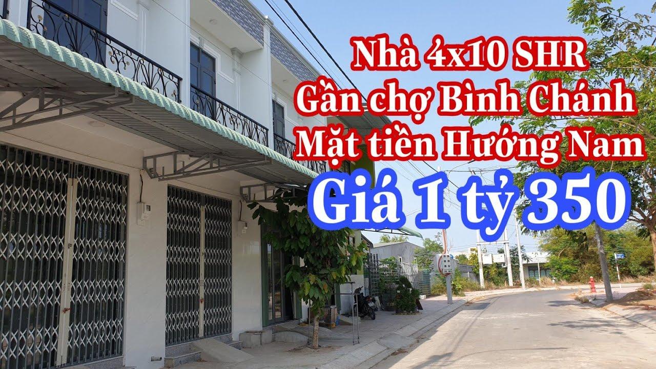 Nhà Bình Chánh giá rẻ Dt 4×10 mặt tiền chỉ 1t350 | LH 0902420902 zalo/viber Ms Thơ