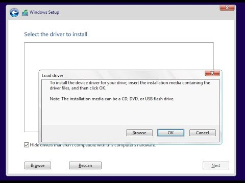 Windows 10 Fixes Load Driver Missing CD-DVD Drive Device Driver HD
