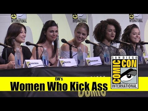 EW's Women Who Kick Ass | 2016 Comic Con Panel (Melissa Benoist, Nathalie Emmanuel, Tatian Maslany)
