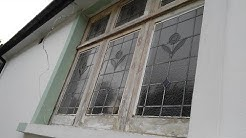 How to restore old wooden window