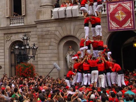 Castellers de Barcelona: GRUP A - Torneig InterCatán
