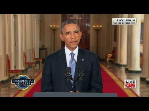 President Obama's full Syria speech