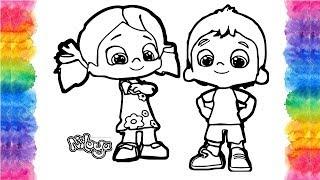 Pepe ve Niloya Boyama Sayfası | Pepe Çizgi Film | Niloya Şarkıları | Eğlenceli Çocuk Videoları