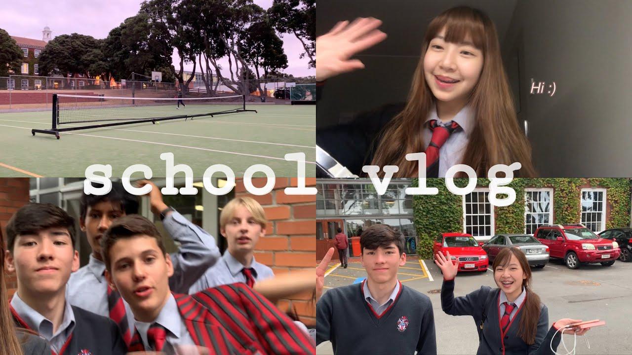 School vlog, meet my friends!🍂 | ไปโรงเรียนกัน,แนะนำเพื่อนๆ🇳🇿
