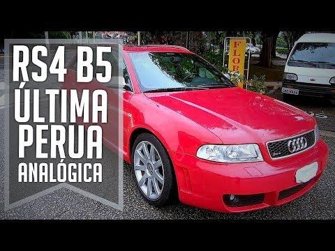 TESTE: Audi RS4 2001 (B5) - A ÚLTIMA PERUA ANALÓGICA