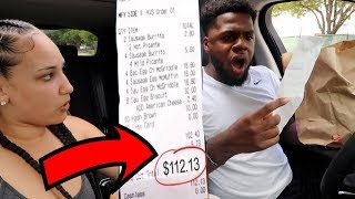 Letting The Person In FRONT of Us DECIDE What We EAT For 24 Hours