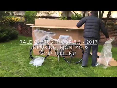 Ersteindruck: Raleigh Rushhour 8.5 - Modell 2017