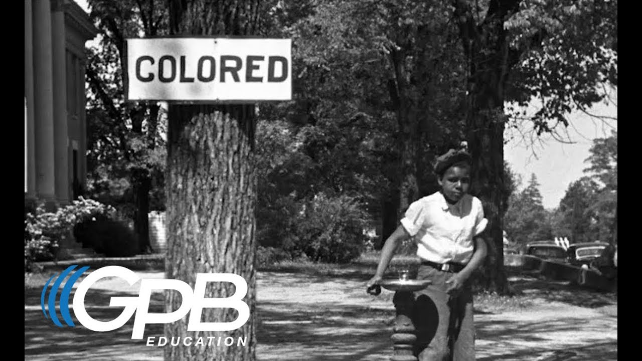 Jim Crow Laws and Racial Segregation in America | The Civil Rights Movement