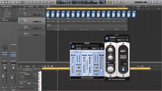 EDM Kick Drum sounds in Logic X