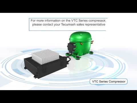 Tecumseh VTC Series Variable Speed Compressor and Controller