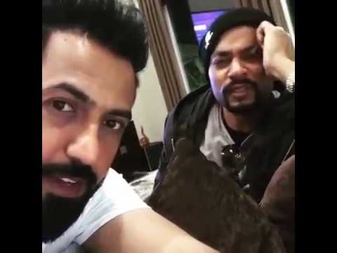 Gippy Grewal & Bohemia Chilling After Shoot Of Car Nachdi | Dainik Savera