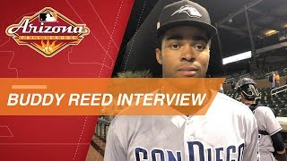 Reed talks about his 1st Fall League homer