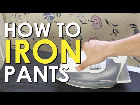 How to Iron Dress Pants | The Art of Manliness